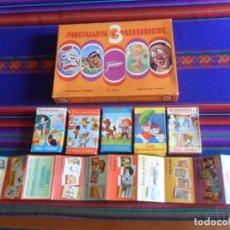Jeux de cartes: CAJA 3 JUEGOS FOURNIER, CATÁLOGO, BLANCANIEVES 101 DÁLMATAS PAREJAS DEL MUNDO 7 CUENTOS RESCATADORES. Lote 270141183