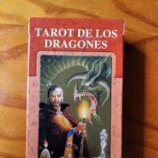 Barajas de cartas: TAROT DE LOS DRAGONES - BARAJA COMPLETA - SALVAT - SIN ESTRENAR. Lote 270623938