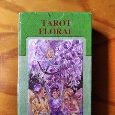 Barajas de cartas: TAROT FLORAL - BARAJA COMPLETA - SALVAT - SIN ESTRENAR. Lote 270624128