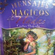 Barajas de cartas: MENSAJES MAGICOS DE LAS HADAS.DRA DOREEN VIRTUE.CARTAS ORÁCULO.. Lote 270916288
