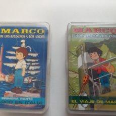 Barajas de cartas: LOTE DE NAIPES MARCO ,MARCO EN ITALIA , EL VIAJE DE MARCO. Lote 271114208