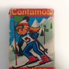 Barajas de cartas: BARAJA DE CARTAS CONTAMOS CONTIGO. Lote 271142583