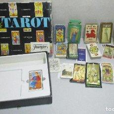 Baralhos de cartas: LOTE BARAJAS DE TAROT, INCOMPLETAS. Lote 178736685