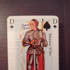 Barajas de cartas: BARAJA DE CARTAS. FRANCIA. EDITIONS JC DUSSERRE. JEU JEHANNE D'ARC ET CHARLES VII. POKER. PRECINTADA. Lote 271401583