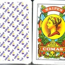 Barajas de cartas: EDIVAL - GESTIÓN INMOBILIARIA - VALENCIA - BARAJA ESPAÑOLA 40 CARTAS. Lote 271921988