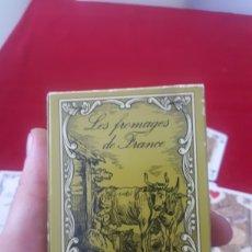 Barajas de cartas: CURIOSA BARAJA LES FROMAGES DE FRANCE GRIMAUD COMO NUEVA. Lote 271948973