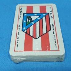 Barajas de cartas: BARAJA ESPAÑOLA - AUPA ATLETI - MADRID - NUEVA PRECINTADA. Lote 272178958