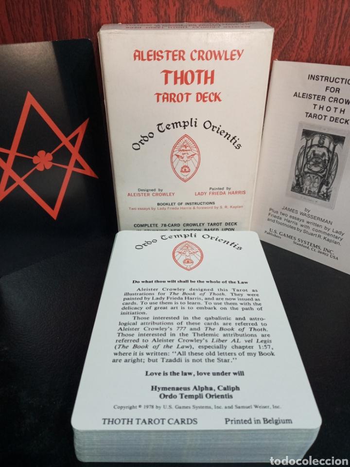 ALEISTER CROWLEY.THOTH TAROT DECK.ORDO TEMPLI ORIENTIS. (Juguetes y Juegos - Cartas y Naipes - Barajas Tarot)