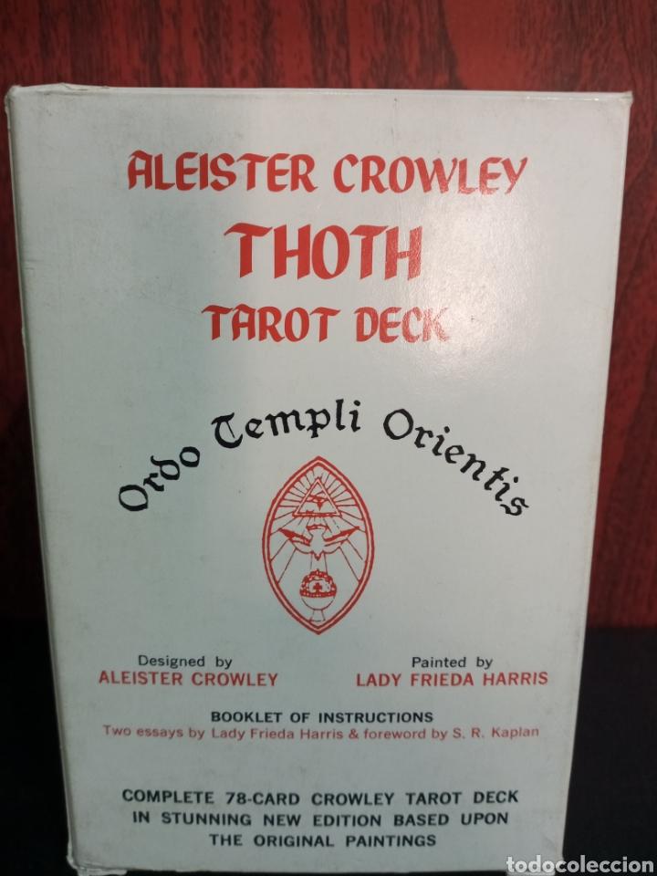 Barajas de cartas: ALEISTER CROWLEY.THOTH TAROT DECK.ORDO TEMPLI ORIENTIS. - Foto 7 - 272236668