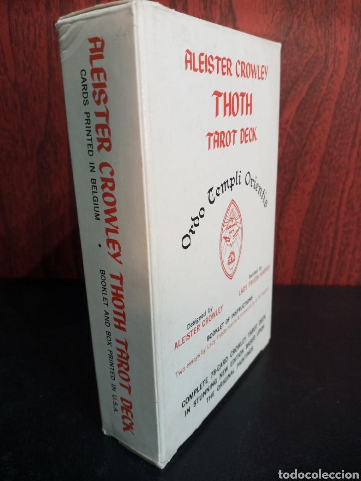 Barajas de cartas: ALEISTER CROWLEY.THOTH TAROT DECK.ORDO TEMPLI ORIENTIS. - Foto 8 - 272236668
