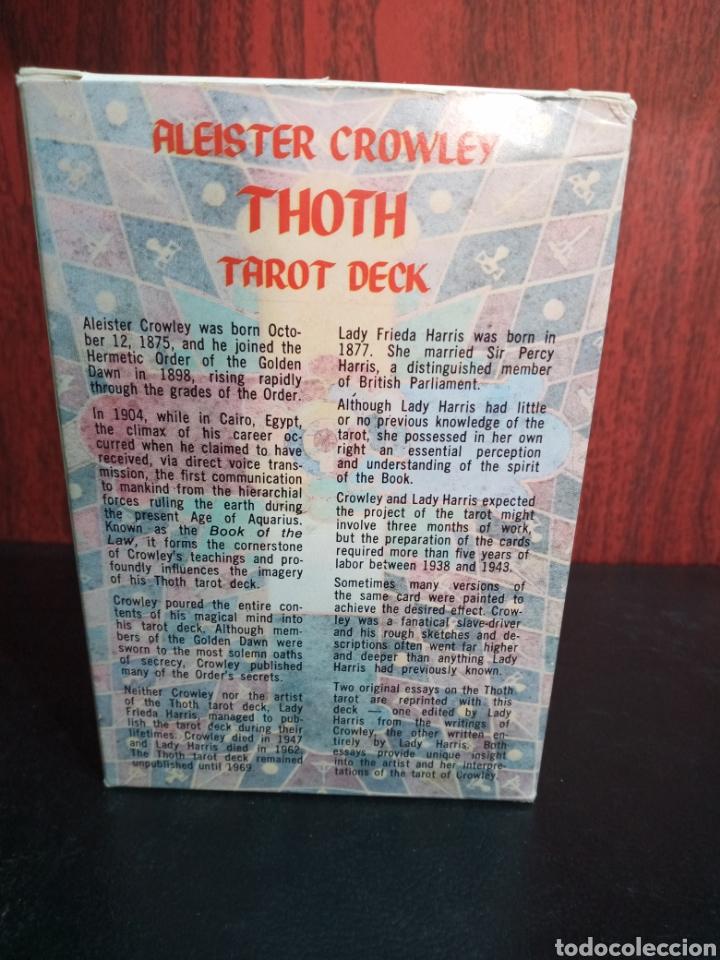 Barajas de cartas: ALEISTER CROWLEY.THOTH TAROT DECK.ORDO TEMPLI ORIENTIS. - Foto 9 - 272236668
