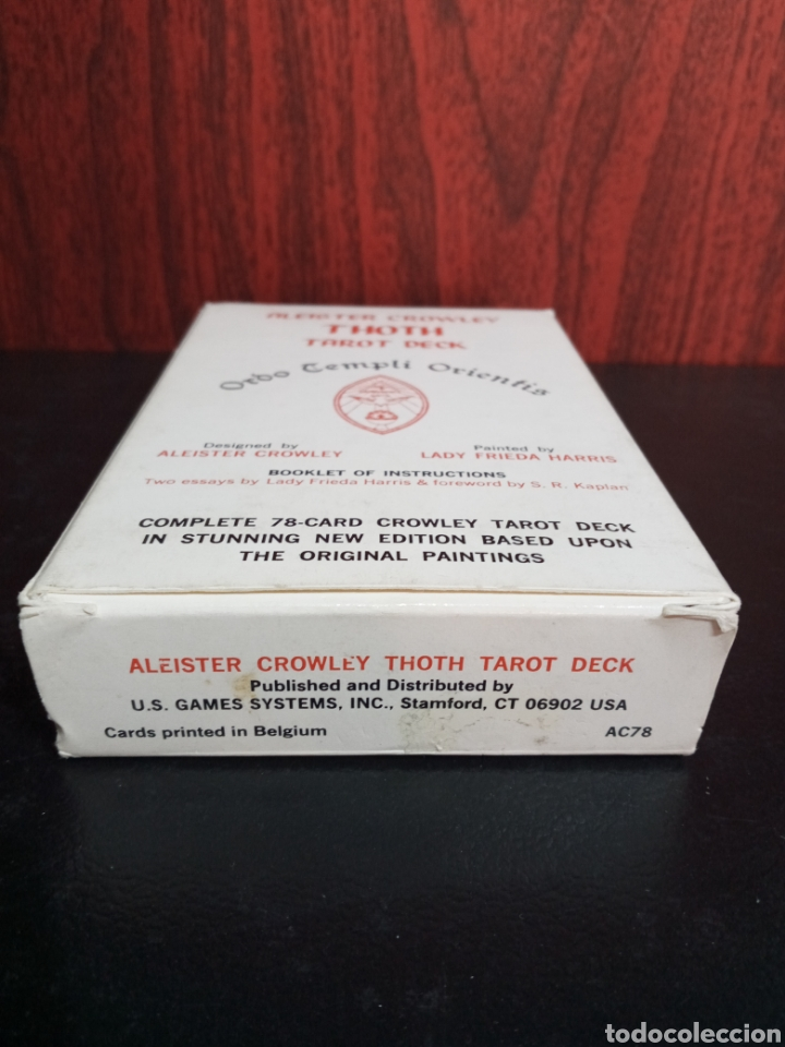 Barajas de cartas: ALEISTER CROWLEY.THOTH TAROT DECK.ORDO TEMPLI ORIENTIS. - Foto 11 - 272236668