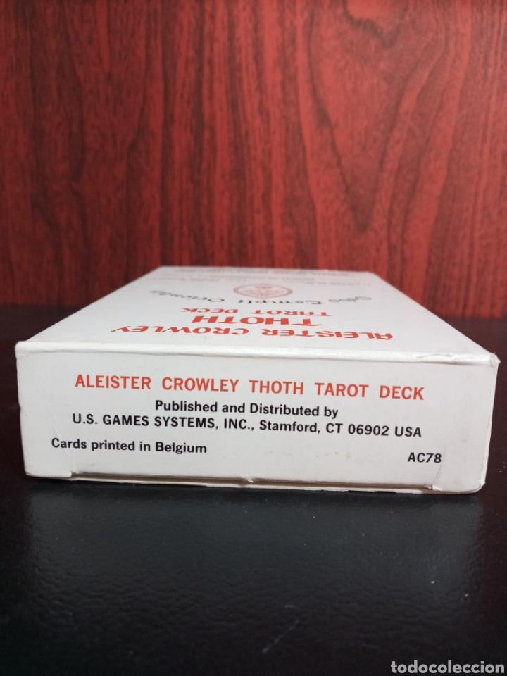 Barajas de cartas: ALEISTER CROWLEY.THOTH TAROT DECK.ORDO TEMPLI ORIENTIS. - Foto 12 - 272236668