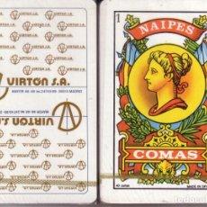 Barajas de cartas: VIRTON S.A. - MADRID - BARAJA ESPAÑOLA 40 CARTAS. Lote 272355308