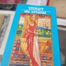 Barajas de cartas: BARAJA DE CARTAS TAROT DE CRISTAL ORBIS 2001. Lote 272635603