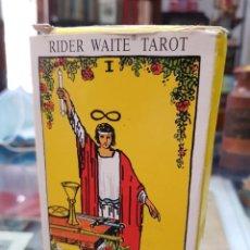 Barajas de cartas: BARAJA DE CARTAS TAROT RIDER WAITE AGMULLER. Lote 272639733