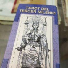 Baralhos de cartas: BARAJA DE CARTAS TAROT DEL TERCER MILENIO LO SCARABEO. Lote 272641238