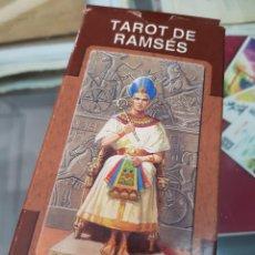 Baralhos de cartas: BARAJA DE CARTAS TAROT DE RAMSES LO SCARABEO. Lote 272643098