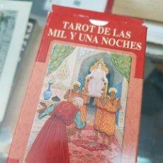 Barajas de cartas: BARAJA DE CARTAS TAROT DE LAS MIL Y UNA NOCHES LO SCARABEO. Lote 272652058