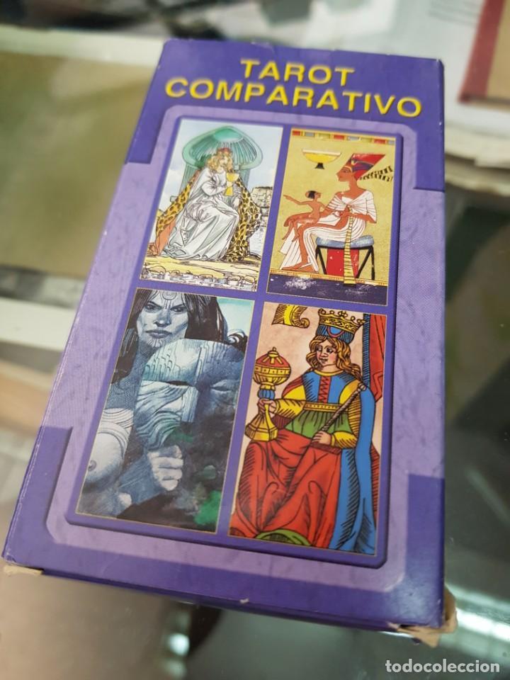 BARAJA DE CARTAS TAROT COMPARATIVO LO SCARABEO (Juguetes y Juegos - Cartas y Naipes - Barajas Tarot)