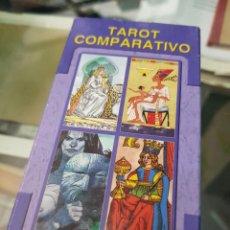 Baralhos de cartas: BARAJA DE CARTAS TAROT COMPARATIVO LO SCARABEO. Lote 272652178