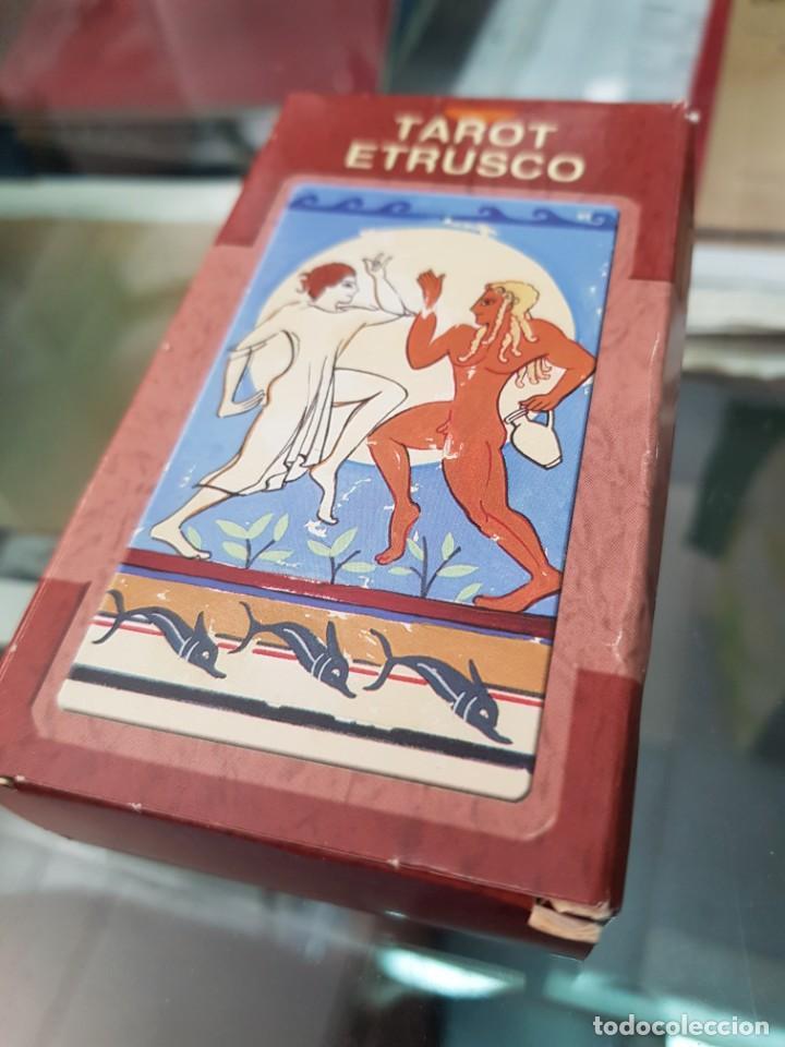 BARAJA DE CARTAS TAROT ETRUSCO LO SCARABEO (Juguetes y Juegos - Cartas y Naipes - Barajas Tarot)