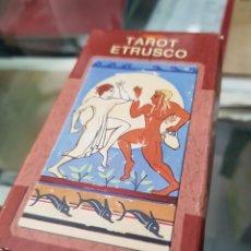 Barajas de cartas: BARAJA DE CARTAS TAROT ETRUSCO LO SCARABEO. Lote 272652318