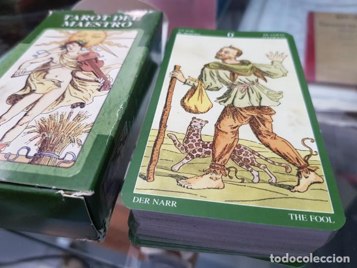 Barajas de cartas: BARAJA DE CARTAS TAROT DEL MAESTRO LO SCARABEO - Foto 3 - 272652648