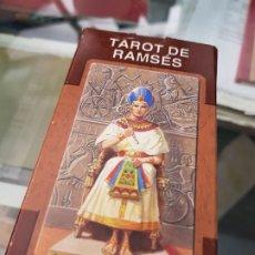Baralhos de cartas: BARAJA DE CARTAS TAROT DE RAMSES LO SCARABEO. Lote 272674963