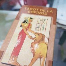 Baralhos de cartas: BARAJA DE CARTAS TAROT DE LA ESFINGE LO SCARABEO. Lote 272675223