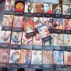 Baralhos de cartas: LOTE COLECCION BARAJAS DE CARTAS TAROT ORACULO ORBIS FABBRI. Lote 272677153