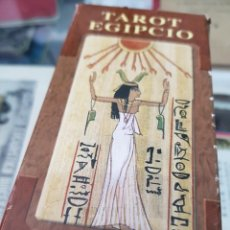 Mazzi di carte: BARAJA DE CARTAS TAROT EGIPCIO LO SCARABEO. Lote 272911238