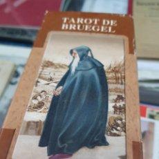 Baralhos de cartas: BARAJA DE CARTAS TAROT DE BRUEGEL LO SCARABEO. Lote 272947583
