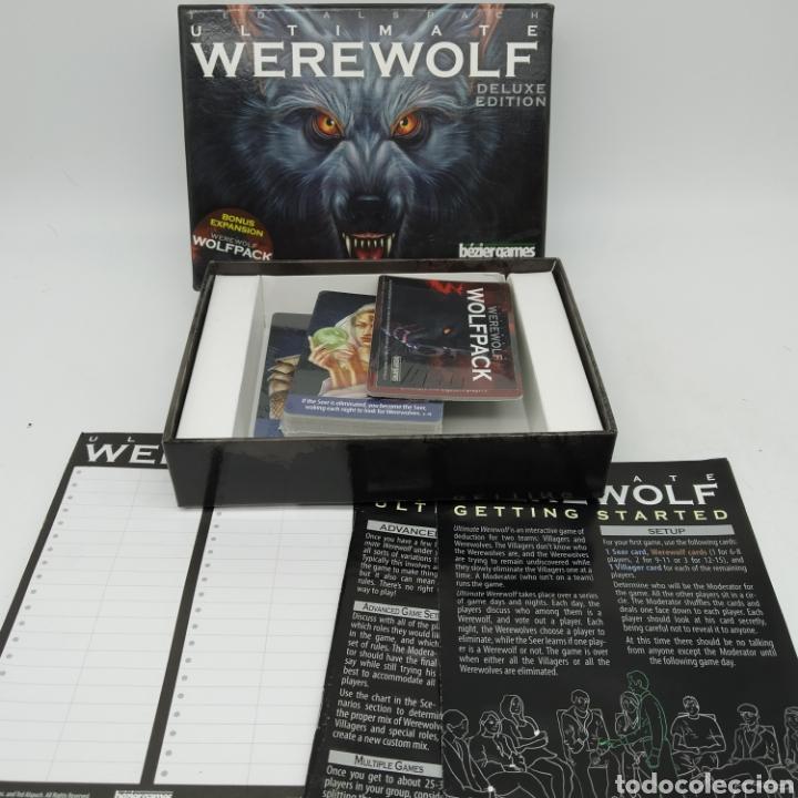 Barajas de cartas: Ted Alspach Ultimate WEREWOLF Deluxe Edition, juego de cartas de 1 a 75 jugadores, Bezier Games - Foto 2 - 272981068