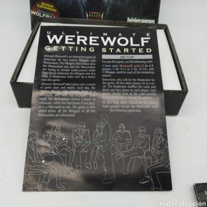 Barajas de cartas: Ted Alspach Ultimate WEREWOLF Deluxe Edition, juego de cartas de 1 a 75 jugadores, Bezier Games - Foto 7 - 272981068