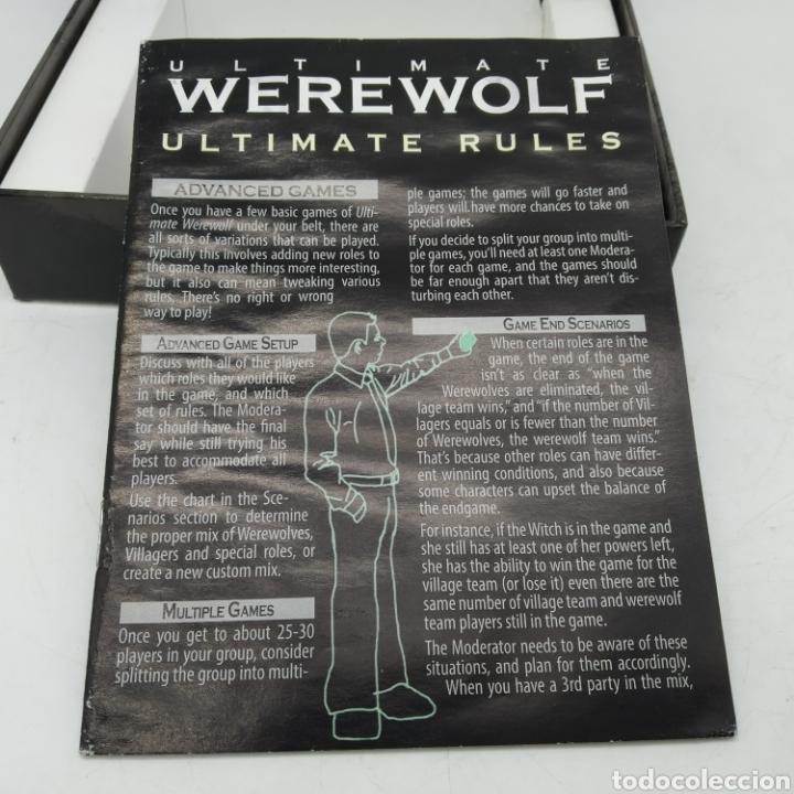Barajas de cartas: Ted Alspach Ultimate WEREWOLF Deluxe Edition, juego de cartas de 1 a 75 jugadores, Bezier Games - Foto 9 - 272981068