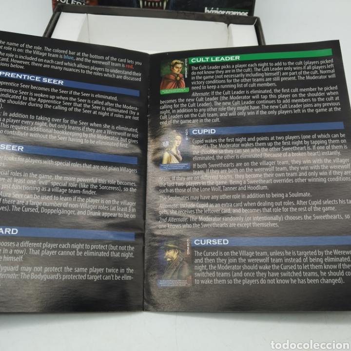 Barajas de cartas: Ted Alspach Ultimate WEREWOLF Deluxe Edition, juego de cartas de 1 a 75 jugadores, Bezier Games - Foto 13 - 272981068