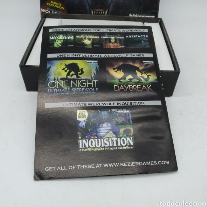 Barajas de cartas: Ted Alspach Ultimate WEREWOLF Deluxe Edition, juego de cartas de 1 a 75 jugadores, Bezier Games - Foto 14 - 272981068