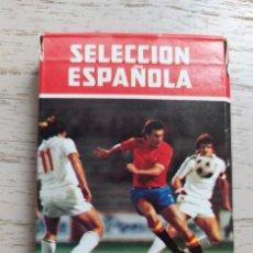 Jeux de cartes: BARAJA SELECCIÓN ESPAÑOLA, 1982. NUEVA. TAGS: MUNDIAL, FÚTBOL, ESPAÑA. AÑOS 80. Lote 273150833