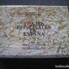 Jeux de cartes: BARAJA POKER FOURNIER. TRAJES REGIONALES DE ESPAÑA. DIBUJOS PERELLON 1968. Lote 273410098