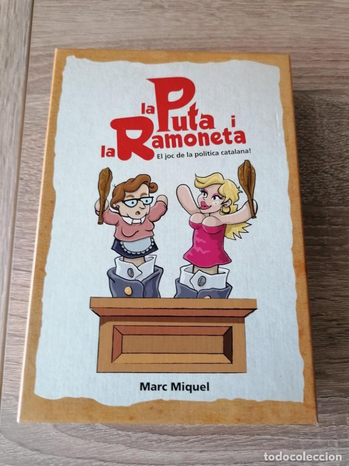 JUEGO DE CARTAS LA PUTA I LA RAMONETA. EL JUEGO DE LA POLITICA CATALANA!!! (Juguetes y Juegos - Cartas y Naipes - Barajas Infantiles)