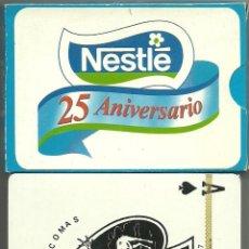Barajas de cartas: NESTLE 25 ANIVERSARIO - BARAJA POKER. Lote 273531743