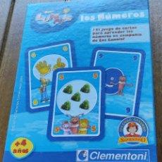 Jeux de cartes: LOS LUNNIS. JUEGO DE CARTAS - CLEMENTONI 2004 - 40 CARTAS EN CAJA. Lote 273656433