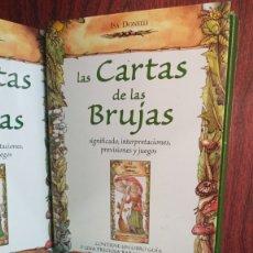 Barajas de cartas: LAS CARTAS DE LAS BRUJAS.LIBRO + PRECIOSA BARAJA. Lote 274400788