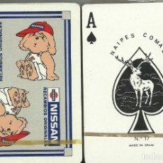 Barajas de cartas: NISSAN RECAMBIOS ORIGINALES - BARAJA POKER. Lote 274640368