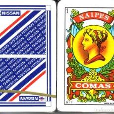 Barajas de cartas: NISSAN - BARAJA ESPAÑOLA 50 CARTAS. Lote 274640383