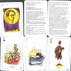 Mazzi di carte: BARAJA ESPAÑOLA BARRIO DEL CRISTO DE PALENCIA-AÑO 2021. Lote 274907368
