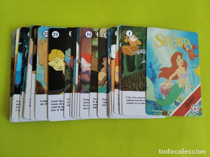 Barajas de cartas: ANTIGUA BARAJA CARTAS FOURNIER LA SIRENITA 1990 COMPLETA - Foto 3 - 275536058
