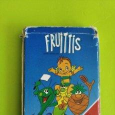 Barajas de cartas: ANTIGUA BARAJA CARTAS FOURNIER LOS FRUITTIS 1990 COMPLETA. Lote 275539008