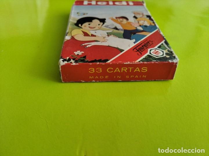 Barajas de cartas: ANTIGUA BARAJA CARTAS FOURNIER HEIDI 1987 COMPLETA - Foto 5 - 275572353